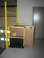 Mezzanine Pallet Safety Gate - 3